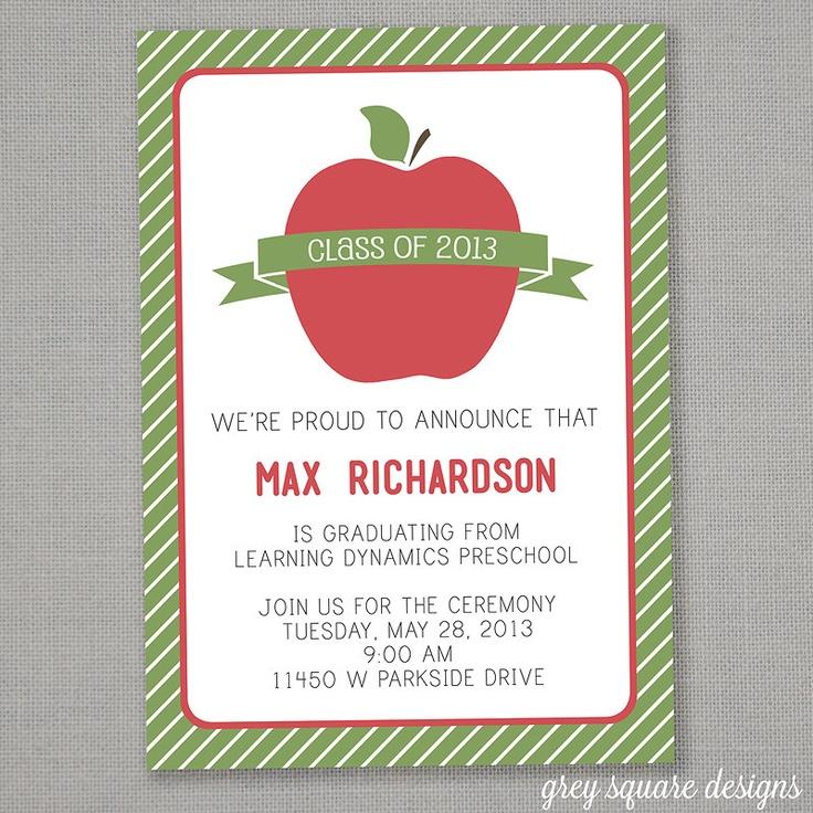 30 best Preschool Graduation images on Pinterest | Graduation ideas ...