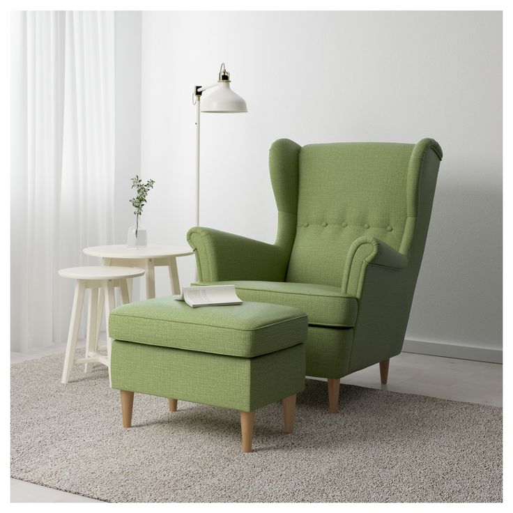 IKEA STRANDMON footstool Works as an extra seat or footstool.