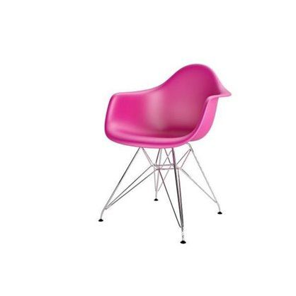 Krzesło P018 inspirowane modelem DAR z siedziskiem z polipropylenu w wersji chropowatej uformowane zostało w sposób zapewniający maksymalną wygodę. Chromowana podstawa zapewnia stabilność oraz pozwala w bezpieczny sposób oddać się chwili relaksu. Ergonomiczna forma oraz ciekawa podstawa stanowią idealną kompozycję, która z łatwością wpasuje się zarówno w domowy klimat, jak i wnętrza komercyjne.P018 to funkcjonalność, komfort i design dostępne w kilku wersjach kolorystycznych.Dla…