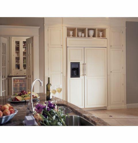Amerikanisch-Kühlschrank / Einbau / Öko / Energy Star ZISB480DX Monogram
