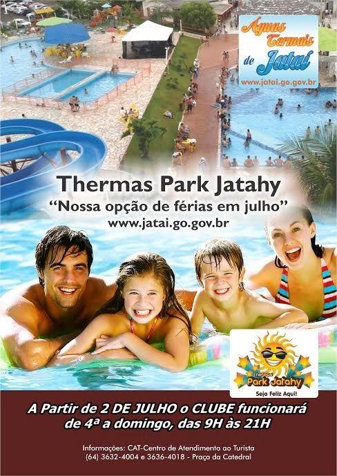 Jataí News: Férias de Julho é no Thermas Park Jatahy