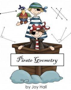FREE Pirate Geometry BINGO