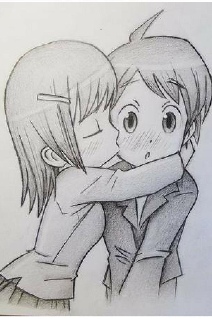 Animes Dibujos Romanticos A Lapiz Dibujos Kawaii Dibujos