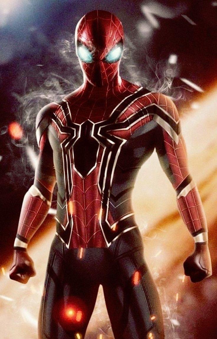 Tom Holland iron spider | Marvel spiderman, Marvel superheroes, Marvel