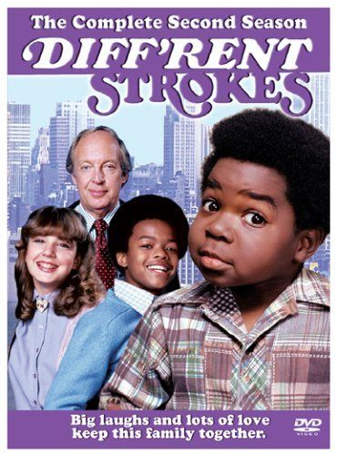 Created by Jeff Harris, Bernie Kukoff.  With Gary Coleman, Todd Bridges, Conrad Bain, Dana Plato. The misadventures of a rich Manhattan family who adopted the children of their late African American maid.