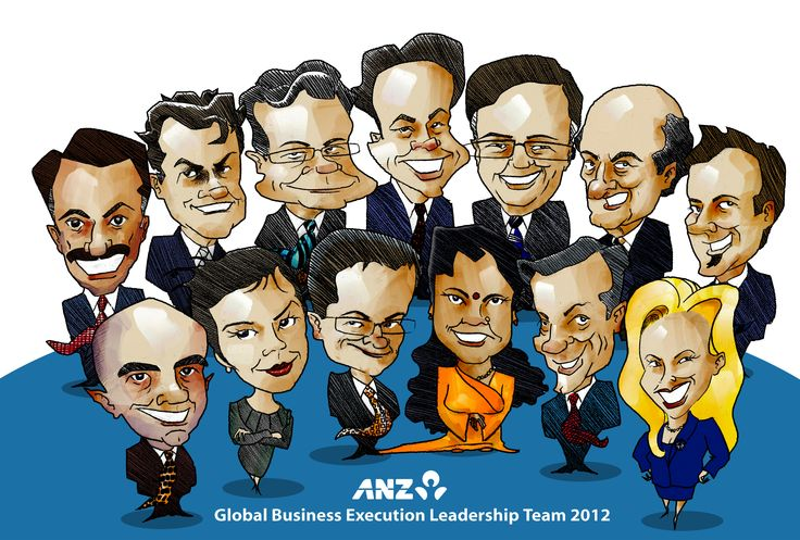 The ANZ Global Business Execution Leadership Team 2012