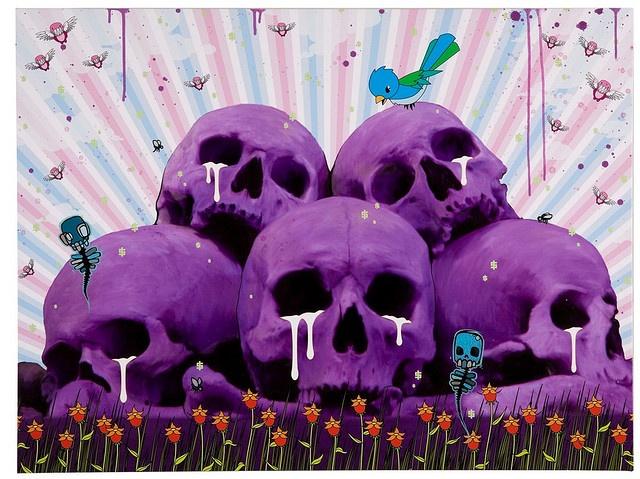 Skull Pile by Mike Shinoda