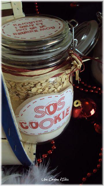 Une Graine d'Idée: *Recette - Gourmandises de Noël* - SOS Cookies une idée de noel pour travailler sur les masses et gâter les familles