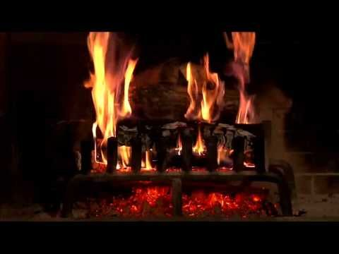 Best Yule Log Fireplace Video HQ