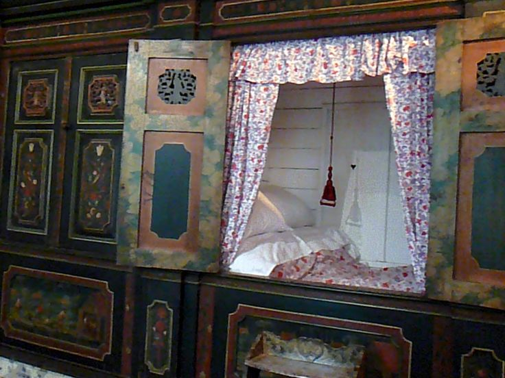 Bed Stee Bed In A Cupboard Old Fashioned Dutch Way Of