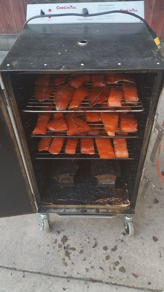 67 best fish recipes images on pinterest barbecue smoker for Smoking fish electric smoker
