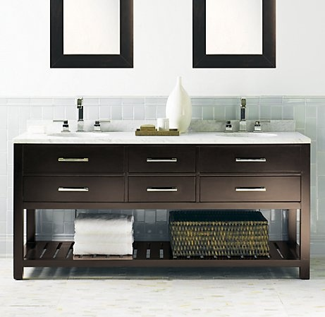 31 best bathroom washstand cabinet images on pinterest Double sink washstand