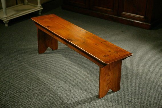 Custom Made Custom Made Rustic Barn Wood Plank Bench