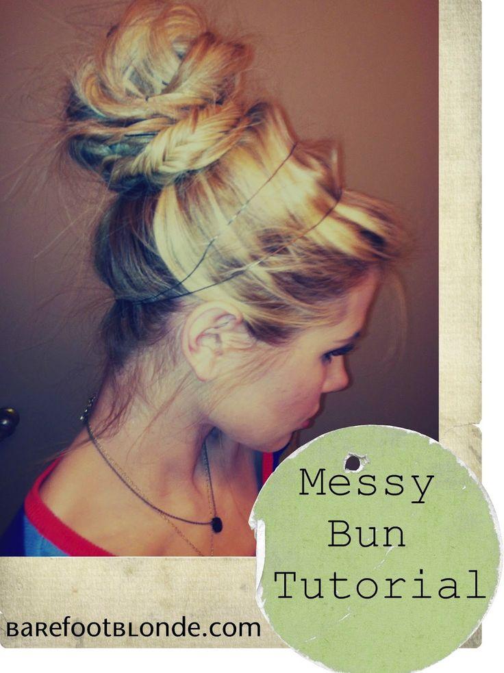 : Hair Ideas, Hair Tutorials, Barefoot Blondes Hair, Long Hair, Fishtail Braids, Bun Tutorials, Wire Tutorials, Thick Hair, Messy Buns Tutorials