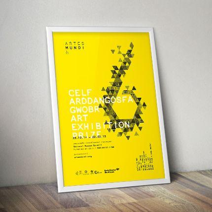Artes Mundi 6 Print Campaign | Work | View Creative Design Agency VCA