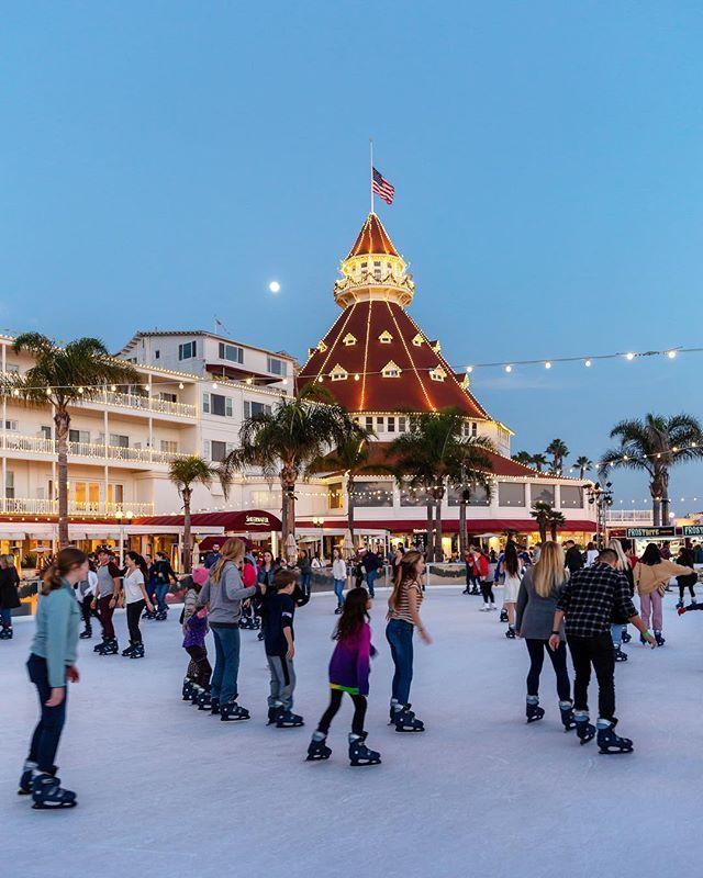 San Go Hotel Del Coronado Ice Skating