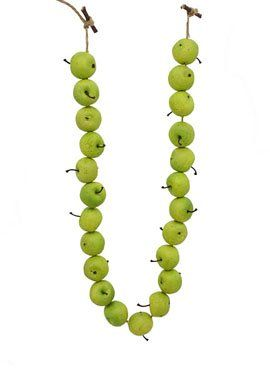 Green Apple Garland -- This is an Amazon Affiliate link. Read more reviews of the product by visiting the link on the image.