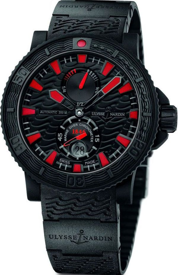 Maxi Marine Diver Black Sea Watch from Ulysse Nardin