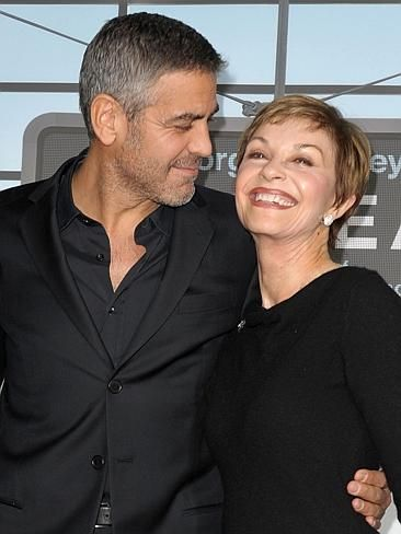 George Clooney with his mum! CelebCon - Stars with their mums | News.com.au