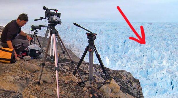 Vzali kameru do opuštěné oblasti v Grónsku. To, co tam natočili, dostalo už 39…