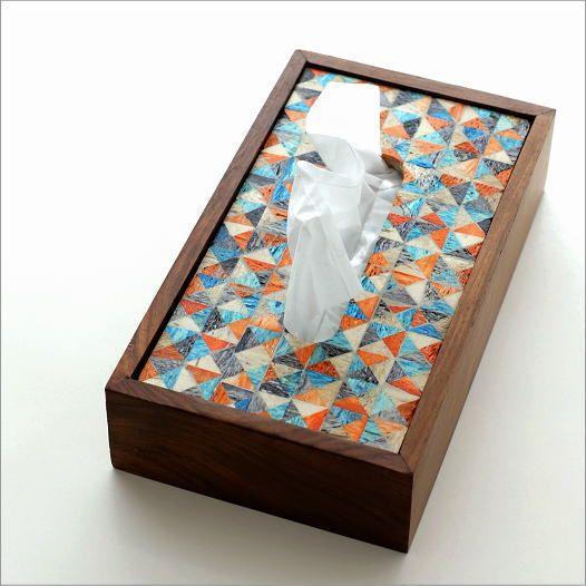 ボーンとウッドのティッシュケース A | ティッシュケース お洒落 木製 北欧 可愛い 木 インテリア アンティーク ティッシュカバー TISSUE BOX 箱 収納 四角 ティッシュケースボックス 。ティッシュケース おしゃれ 木製 北欧 かわいい 木 インテリア アンティーク ティッシュカバー TISSUE BOX 箱 収納 四角 ティッシュケースボックス ティッシュボックス ナチュラル モダン 卓上 自然素材 モザイク デザイン ボーンとウッドのティッシュケース A