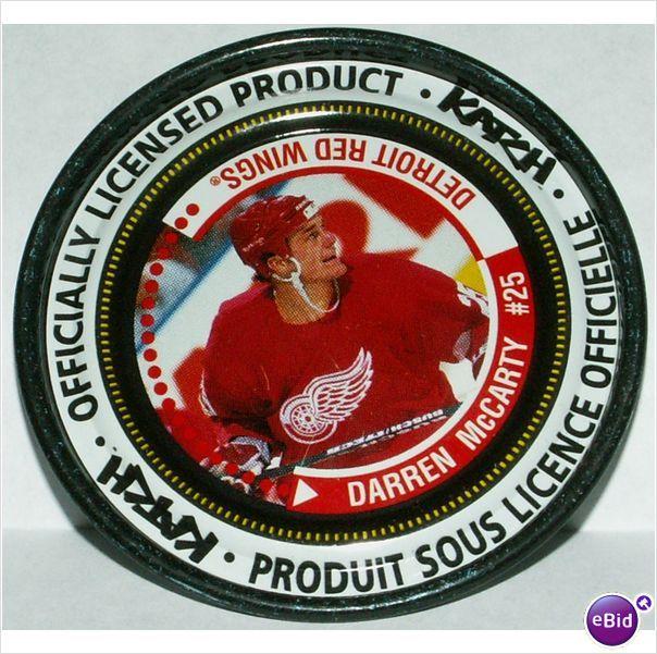 Katch NHL Medallion #51 Darren McCarty #25 Detroit Red Wings 2-3/8 Inch Diameter on eBid Canada