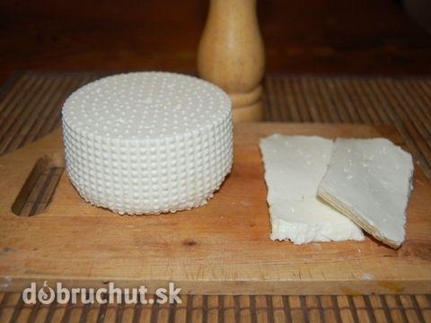 Fotorecept: Domáci kozí syr