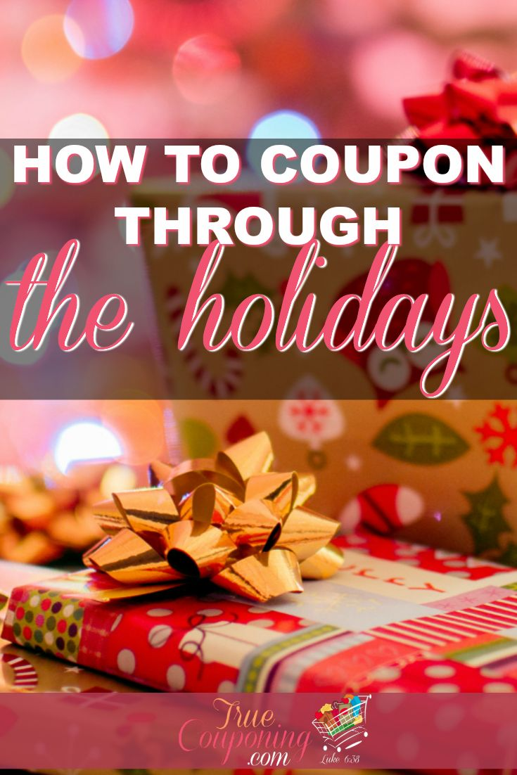 How to Coupon Through The Holidays. Great ways to #save #money this holiday season! #coupon #Christmas