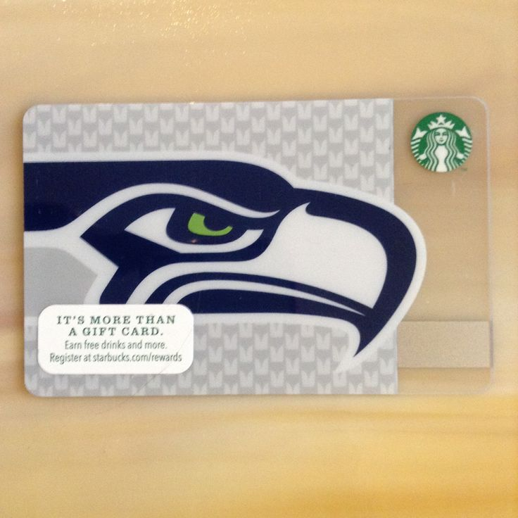 The premier (first) NFL themed Starbucks Card featuring the Seattle Seahawks. This card was available in select Seattle and surrounding counties in Washington State only. This card ships with a $0.00 balance.    Please feel free to contact us via SPREESY if you have any questions or concerns. | Shop this product here: spreesy.com/mysbuxcollection/82 | Shop all of our products at http://spreesy.com/mysbuxcollection    | Pinterest selling powered by Spreesy.com
