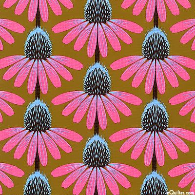 Anna Maria Horner - Pretty Potent - Echinacea - Quilt Fabrics from www.eQuilter.com