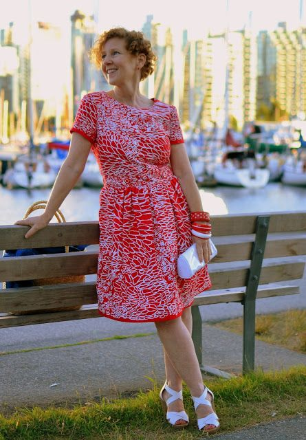 Summer dress vancouver harbour