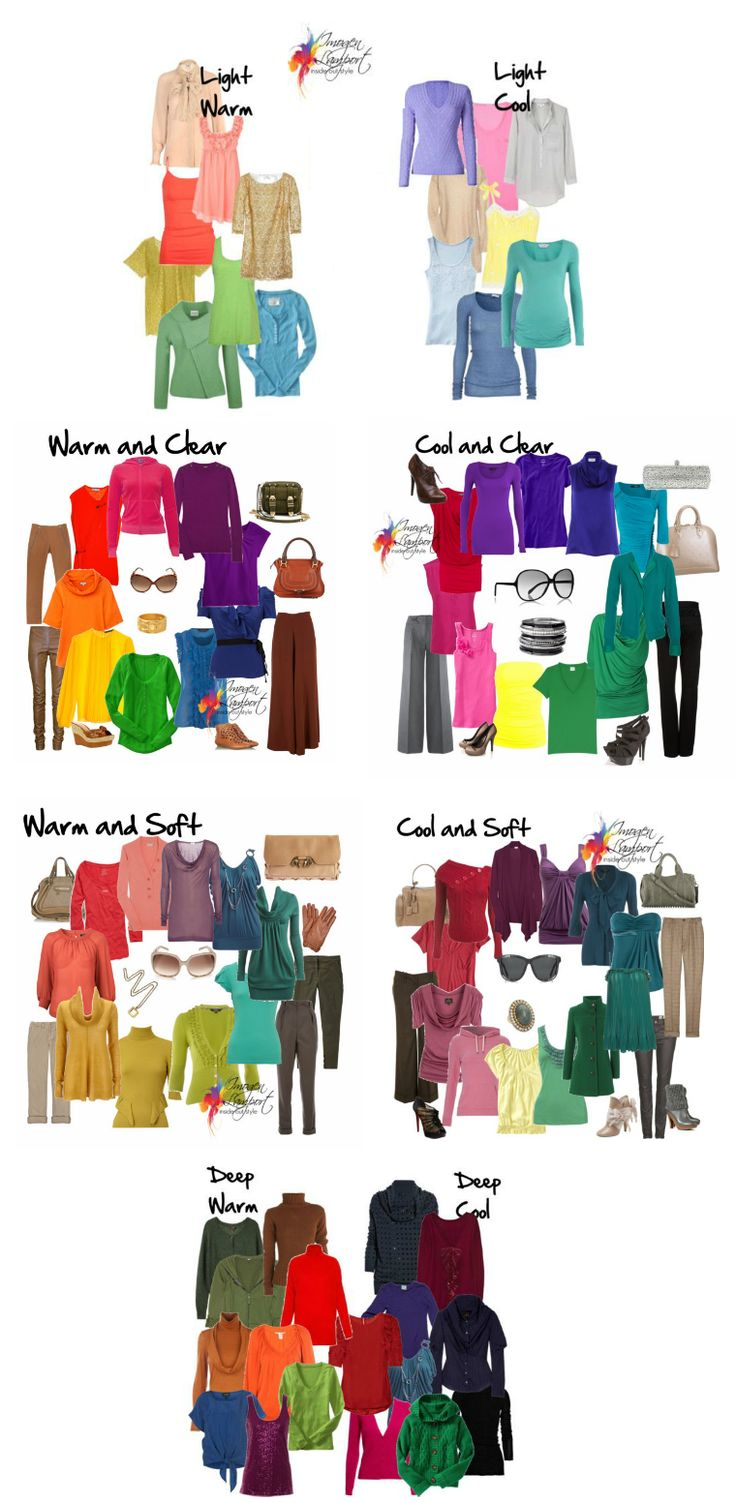 Helpful overview of different colours and how they relate to each other. Basic knowledge for building a wardrobe that lasts!