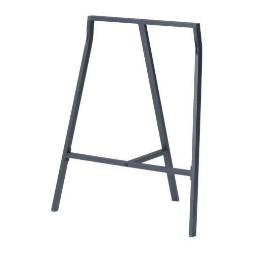LERBERG Benbock, grå grå 70x60 cm