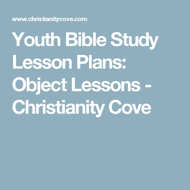 17 of 2017's best Youth Bible Study Lessons ideas on Pinterest ...