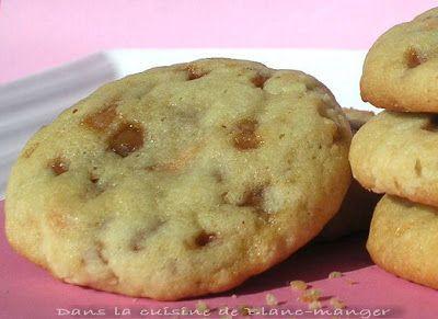 Dans la cuisine de Blanc-manger: Biscuits aux bouchées de caramel