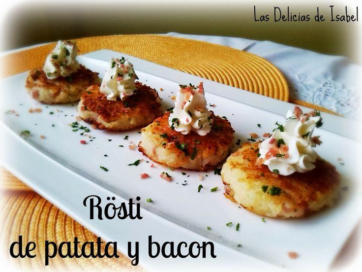 Rosti de patatas y bacon