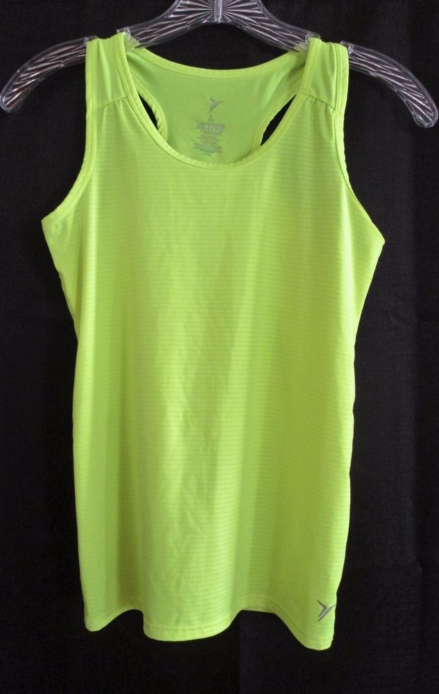Girls 10-12 Large Sports Top Active Old Navy Florescent Yellow Green    #OldNavy #Sports
