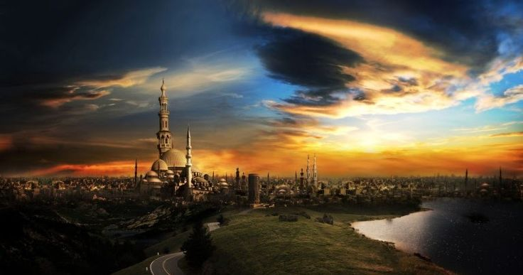 Islamic City Mosque Latest Wallpapers,