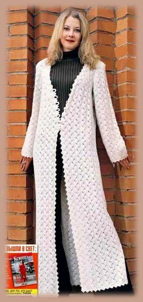 Вязание на спицах кардигана - Вязание спицами, модели и схемы для вязания на спицах