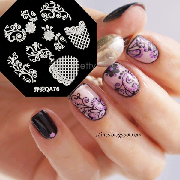 216 best stamping plates and nail polish images on pinterest click to close image click and drag to move use arrow keys for next templatestamping nail arteasy prinsesfo Images