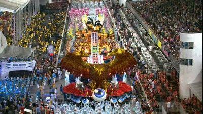Abre-Alas da Águia de Ouro representa o Japão moderno (Foto: Reprodução/TV Globo)