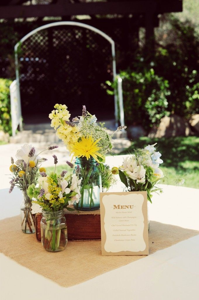 Diy Rustic Wedding Centerpiece Wedding Pinterest Diy