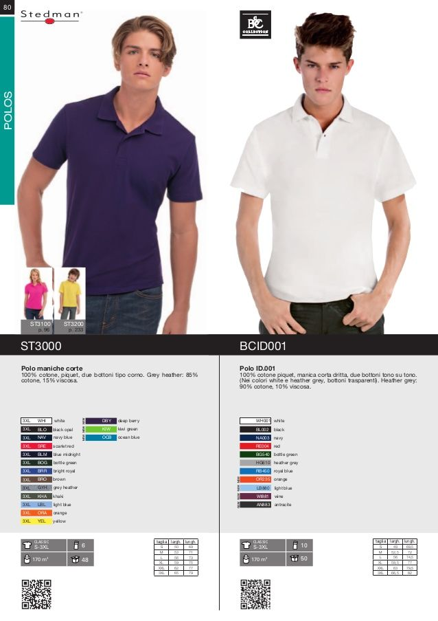Polo personalizzate by FAST COPY SNC via slideshare