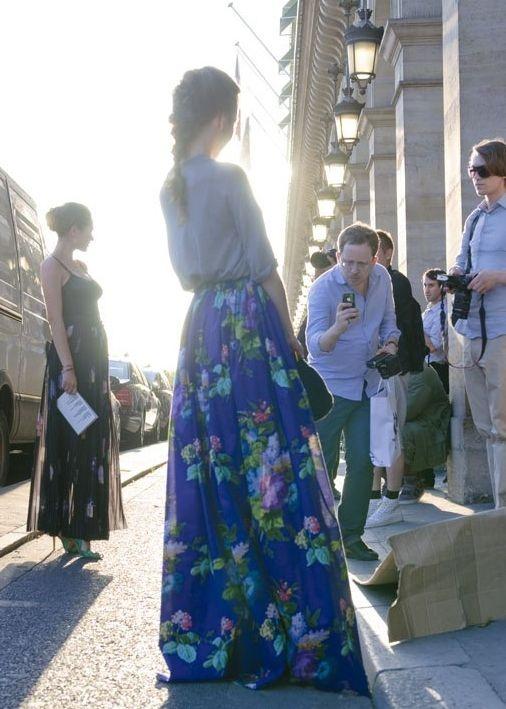 Ulyana Sergeenko~I must have a skirt just like that!