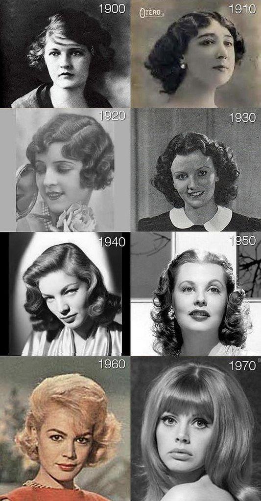 The Evolution of Hair (via)