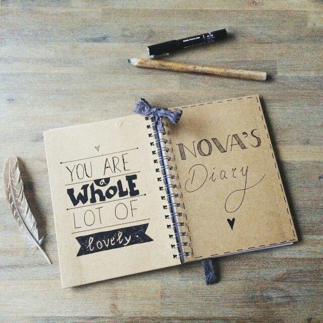 Nova's schriftje voor op t kdv!:) #creatief#madebyme #fallinlovewithit