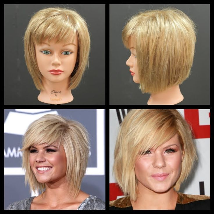 Kimberly Caldwell Haircut - Medium Length Shag Bob Tutorial | The Salon Guy
