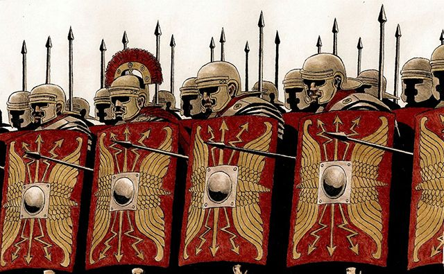 ローマ軍団(Roman legion)古代ローマにおける軍隊(excercitus)の ...