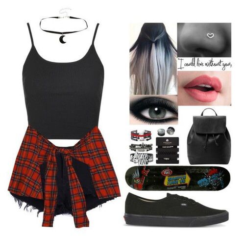 Http//weheartit.com/entry/248504952 | awesome outfits | Pinterest | Emo Clothes and Emo outfits