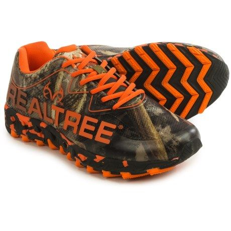 Realtree Outfitters Panther Hiking Shoes (For Men) in Orange